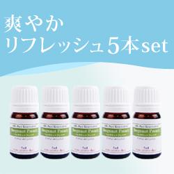 爽やかリフレッシュ5本set